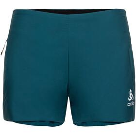 Odlo Millennium S-Thermic Shorts Damer, petroleumsgrøn